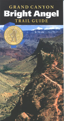 Map: Grand Canyon Trail Guide Bright Angel