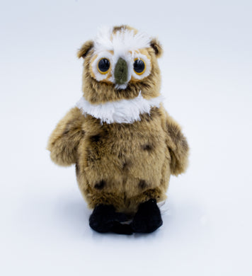 Plush: Great Horned Owl 7.5