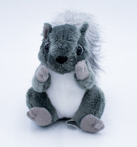 Plush: Gray Squirrel
