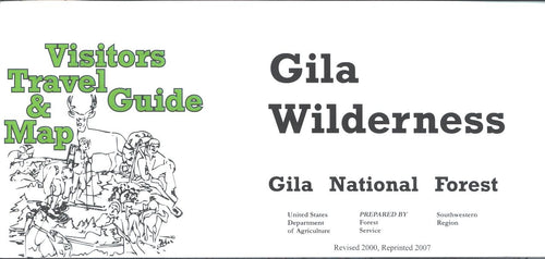 Map: Gila Wilderness NM