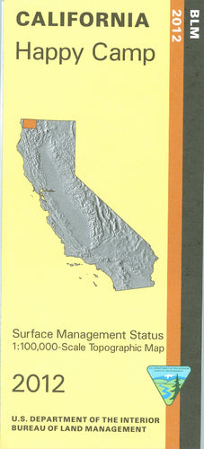 Map: Happy Camp CA - CA180S