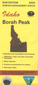 Map: Borah Peak ID - ID1008S