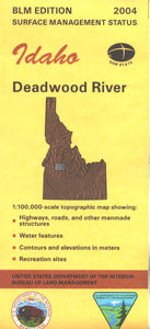 Map: Deadwood River ID - ID1018S