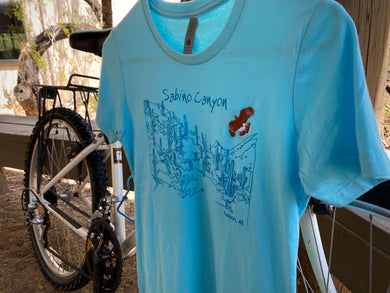 T-shirt: Sabino Hawk Sky Blue