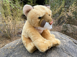 Plush: Mountain Lion 8""