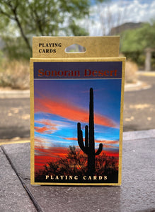 Playing Cards: Sonoran Desert