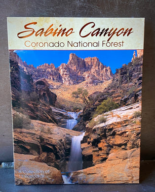 Postcard Packet: Sabino Canyon