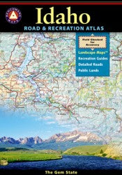 Atlas: Idaho Road & Recreation Atlas