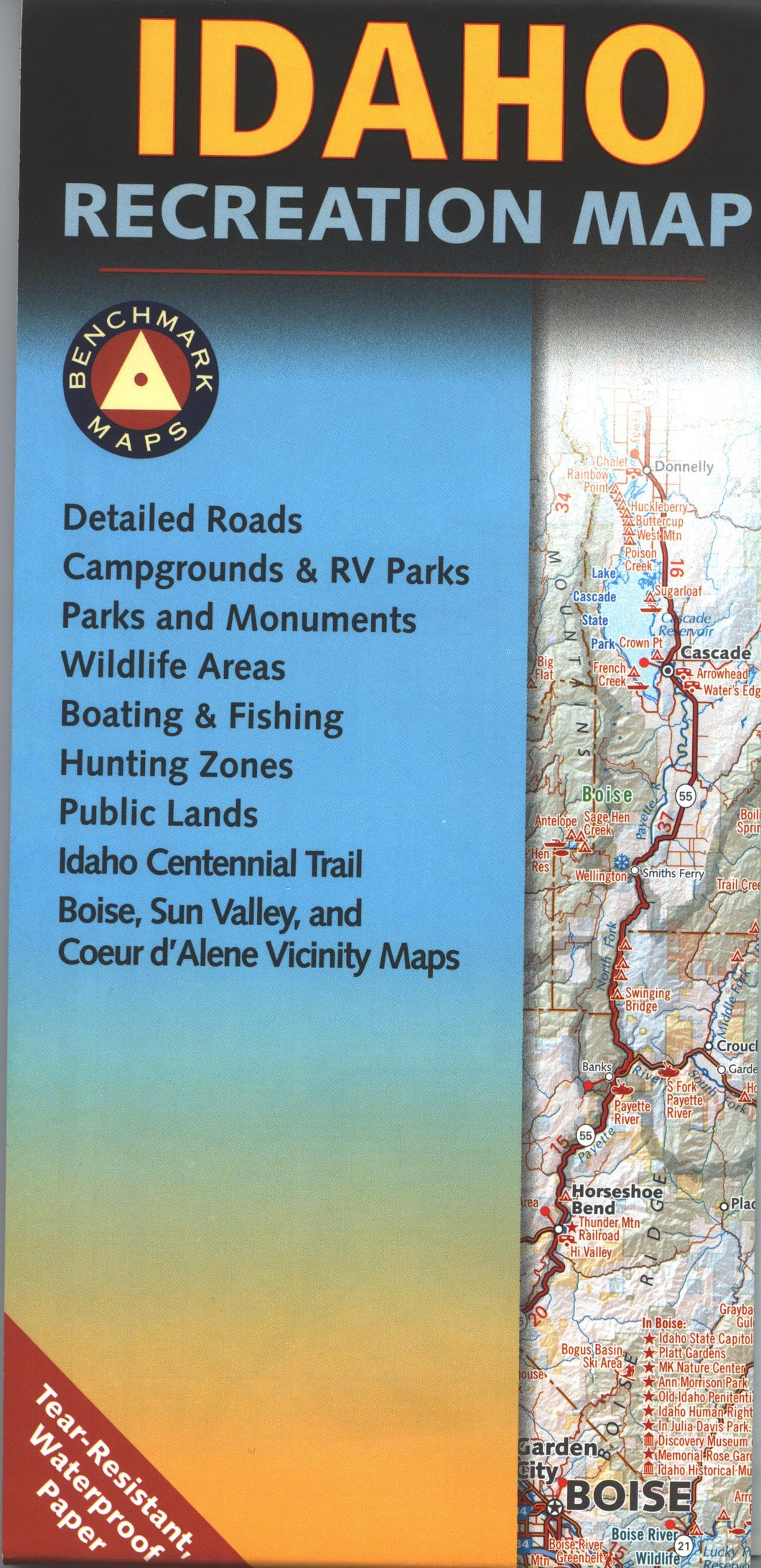 Map: Idaho Recreation