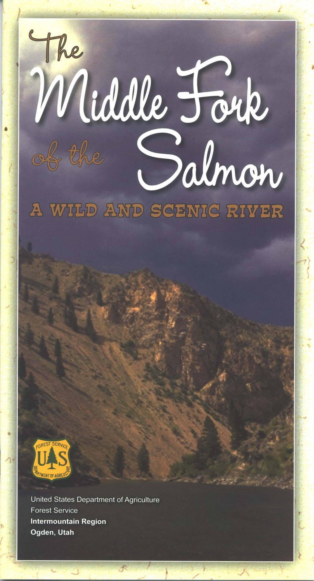 Map: Middle Fork of the Salmon: A Wild and Scenic River ID