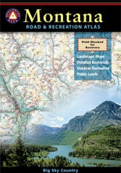 Atlas: Montana Road & Recreation Atlas