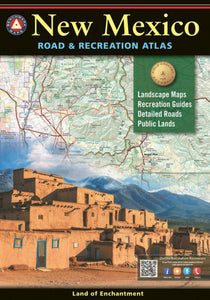 Atlas: New Mexico Road & Recreation Atlas