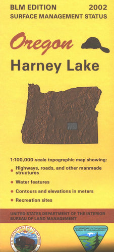 Map: Harney Lake OR - OR024S