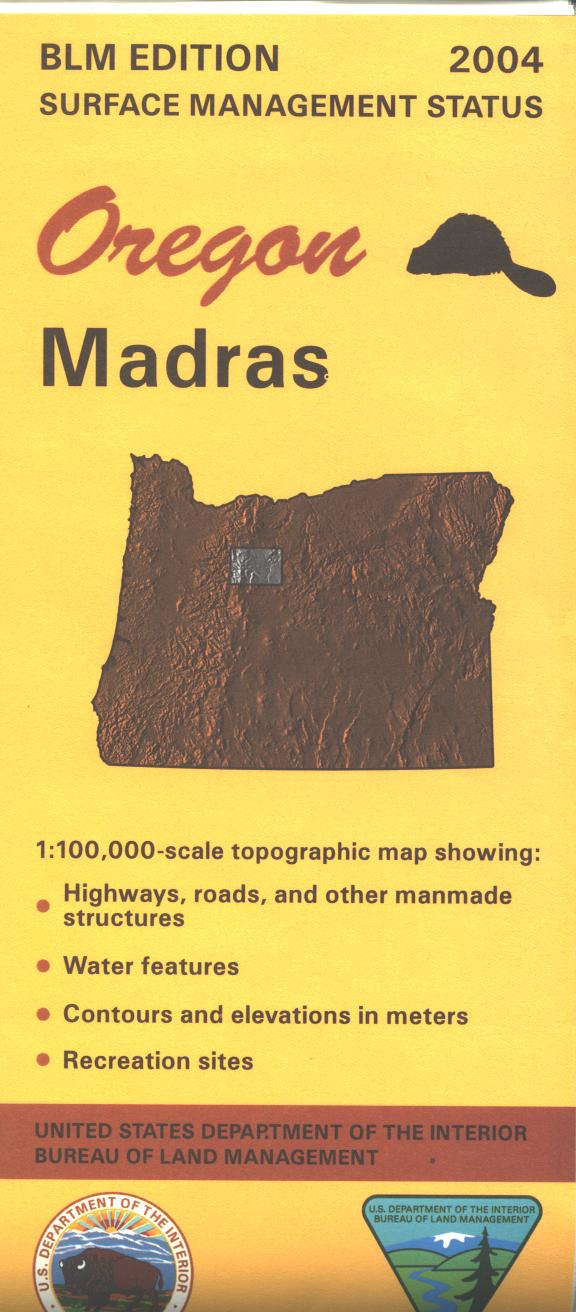 Map: Madras OR - OR036S