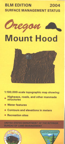 Map: Mount Hood OR - OR042S
