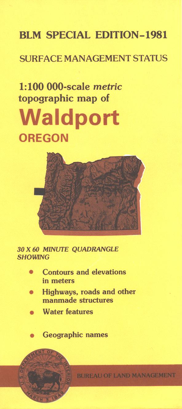 Map: Waldport OR - OR057S