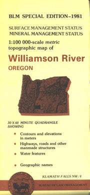 Map: Williamson River OR - OR059S