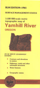 Map: Yamhill River OR - OR060S