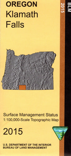 Map: Klamath Falls OR - OR030S