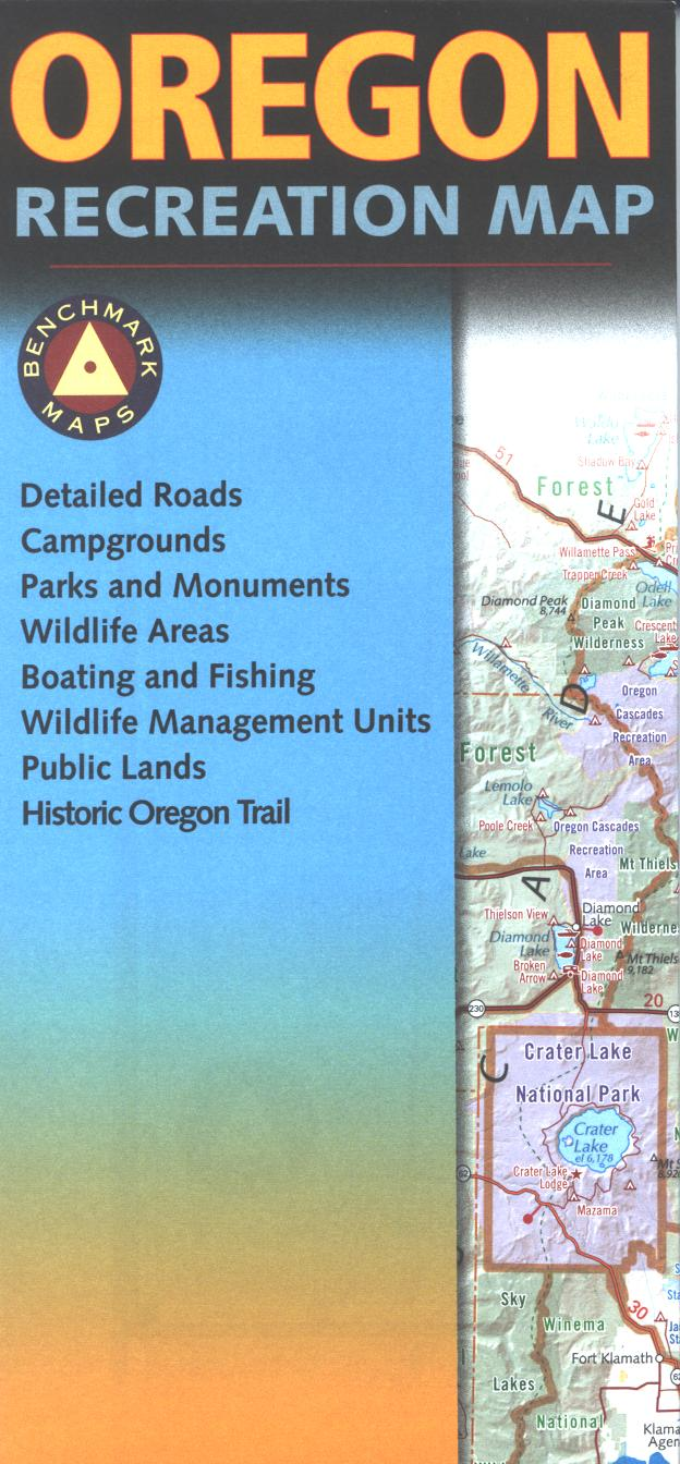 Map: Oregon Recreation