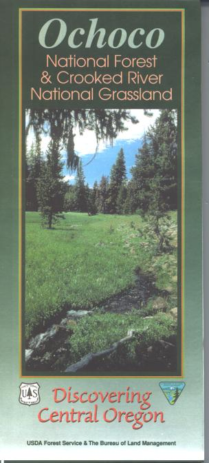 Map: Ochoco OR National Forest & Crooked River National Grassland - 2000