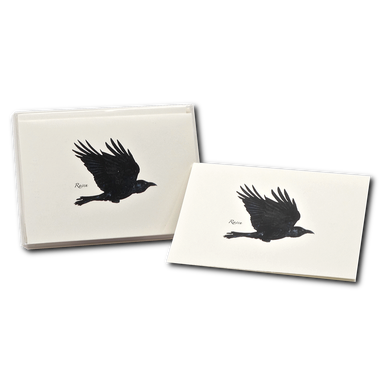 Boxed Notecards: Raven