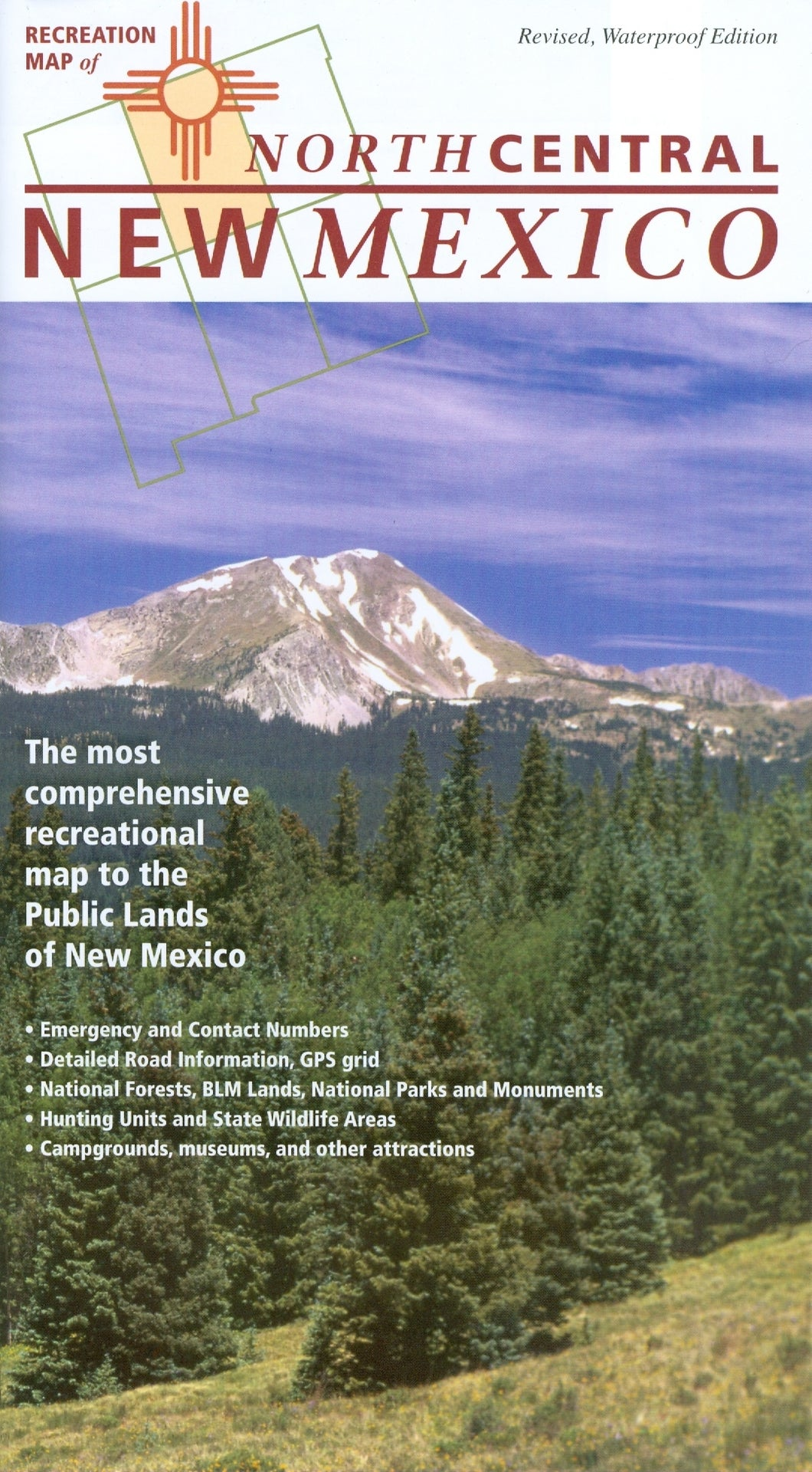 Map: New Mexico Recreation Northcentral