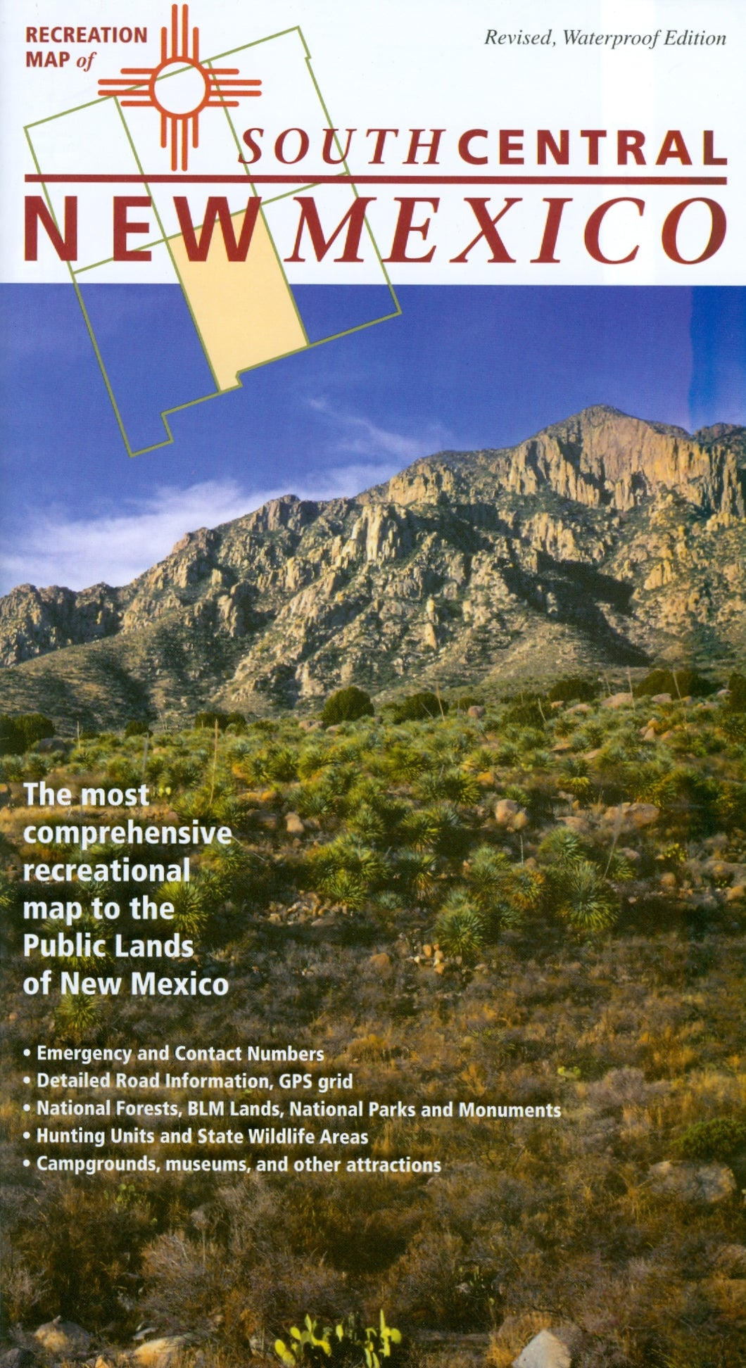 Map: New Mexico Recreation Southcentral