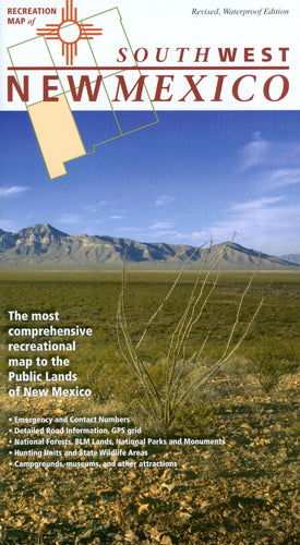 Map: New Mexico Recreation Southwest
