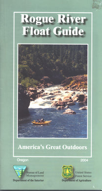 Map: Rogue River Float Guide OR - 2004