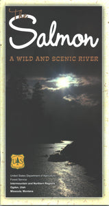 Salmon: A Wild and Scenic River Map & Guide