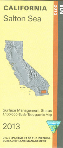 Map: Salton Sea CA - CA405S