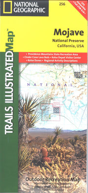 Map: Mojave National Preserve CA