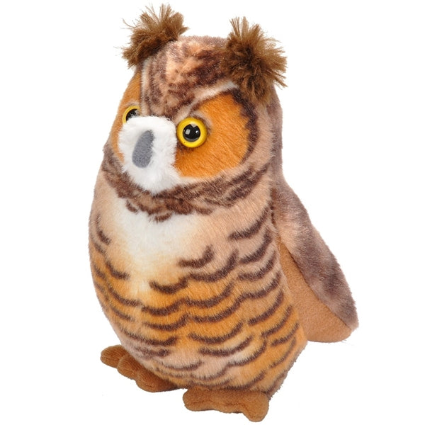 Plush: Great Horned Owl