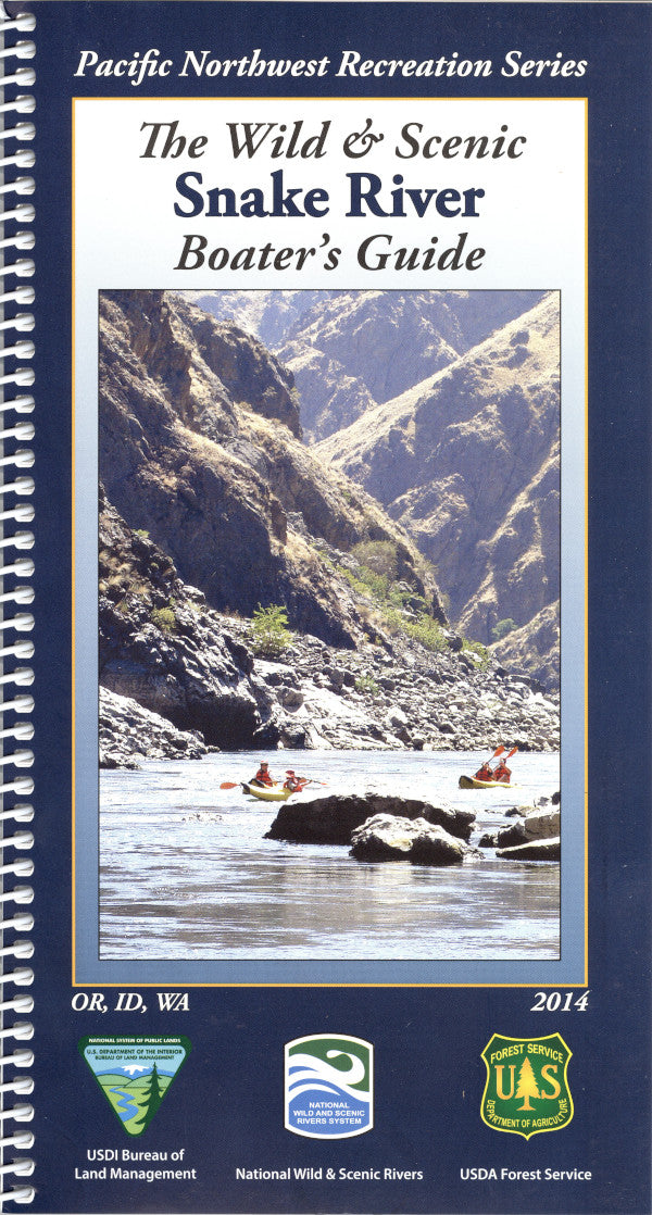 Map: Wild & Scenic Snake River Boater's Guide ID