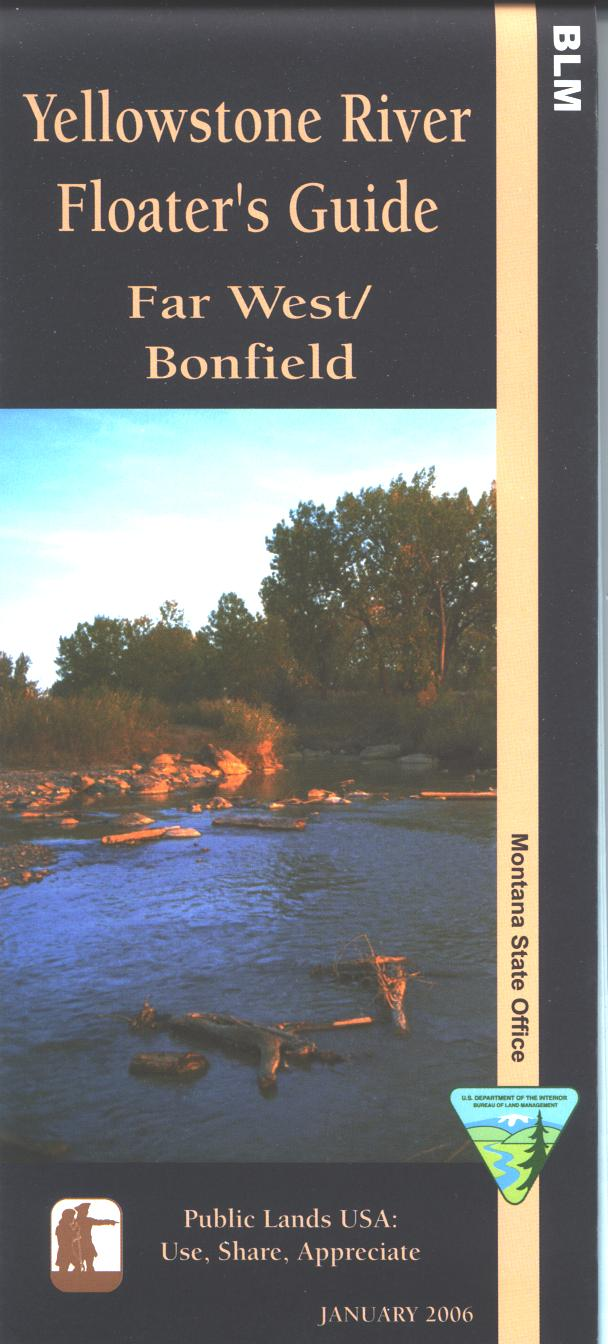 Map:Yellowstone River Floater`s Guide: Far West/Bonfie