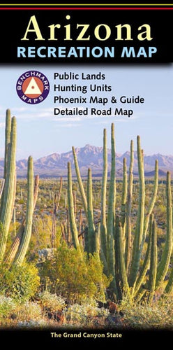 Map: Arizona Recreation