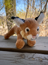 Load image into Gallery viewer, Plush: Bobcat Cub 9""