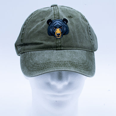 Hat: Black Bear Face