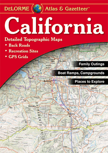 Atlas: California Atlas & Gazetteer