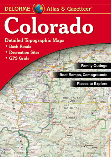 Atlas: Colorado Atlas & Gazetteer
