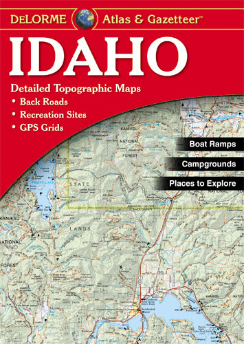 Atlas: Idaho Atlas & Gazetteer