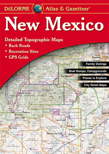 Atlas: New Mexico Atlas & Gazetteer