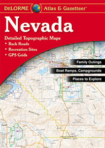 Atlas: Nevada Atlas & Gazetteer