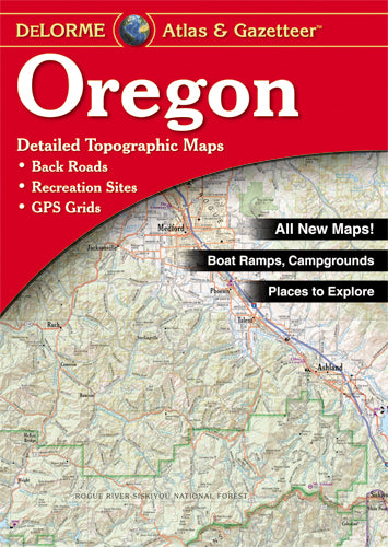 Atlas: Oregon Atlas & Gazetteer