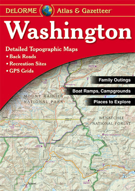 Atlas: Washington Atlas & Gazetteer