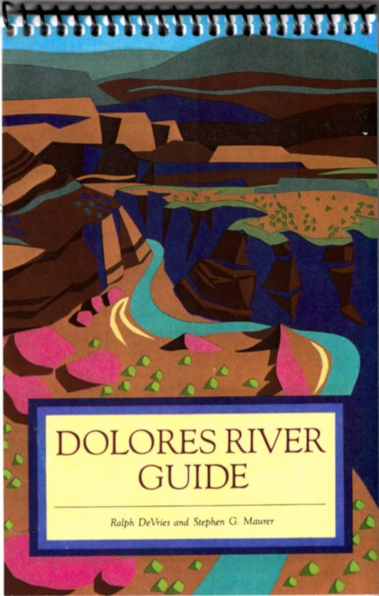 Dolores River Guide Map PDF