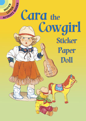 Cara the Cowgirl Paper Doll Stickers