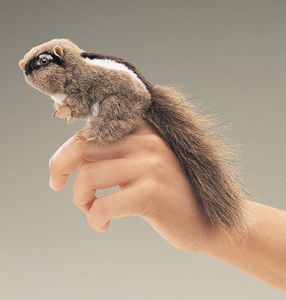 Finger Puppet Mini Chipmunk
