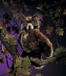 Puppet: Great Horned Owl